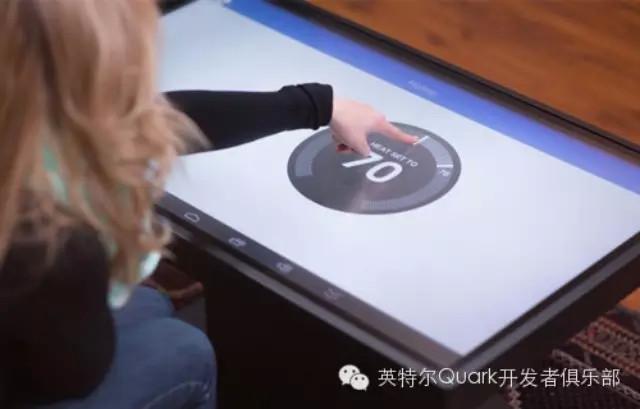 Intel Edison助力双系统触控桌的诞生