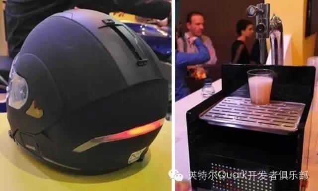 MWC2015:Intel Edison之声控摩托车头盔和智能啤酒机